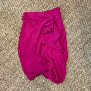 Chanel Pink Skirt Size 2